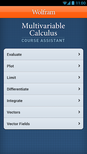 Multivariable Calculus App