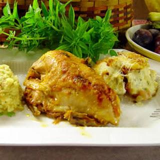 Pressure Cooker Chicken with Duck Sauce.