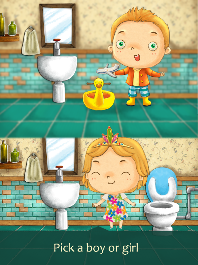 Potty Training - screenshot