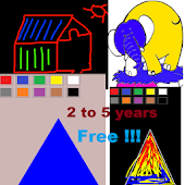 Draw &Learn Shapes Colors Free