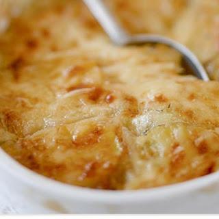 Crème Fraîche Potatoes Gratin.