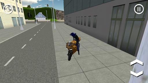 Motorbike City Driving