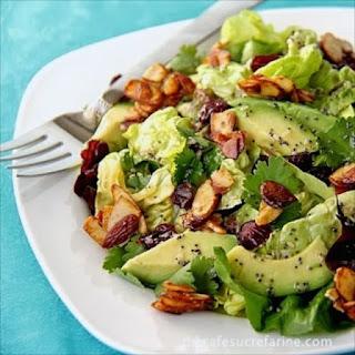 White Balsamic Vinaigrette Salad Recipes.