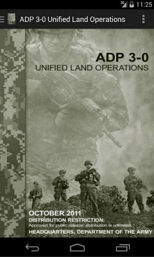 ADP 3-0 Unified Land Ops