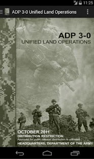 ADP 3-0 Unified Land Ops - screenshot thumbnail