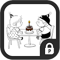 Emily & Jason happy birthday icon