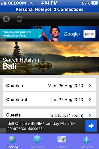 Bali Hotels Booking