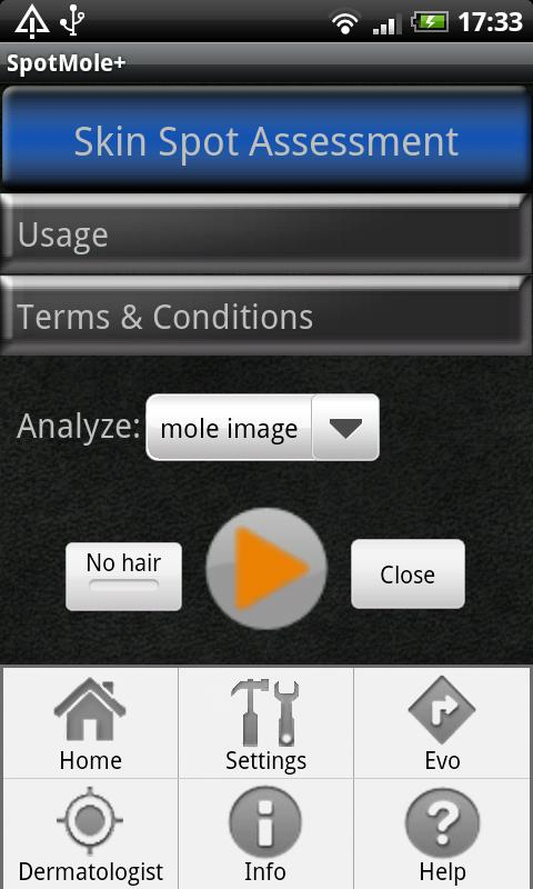 SpotMolePlus - screenshot