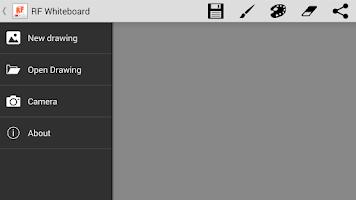 Screenshot of RF Whiteboard