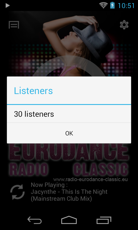 Radio Eurodance Classic- screenshot