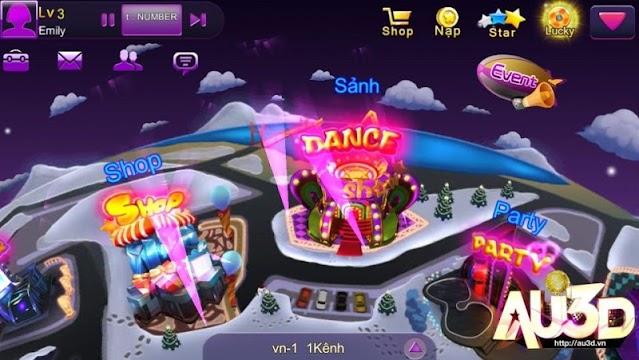 Au 3D,Game Nhay Audition 2U - screenshot