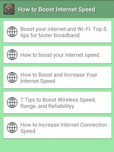 Boost My Internet Speed