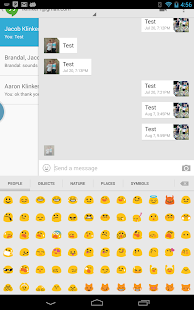Sliding Emoji Keyboard Unlock - screenshot thumbnail
