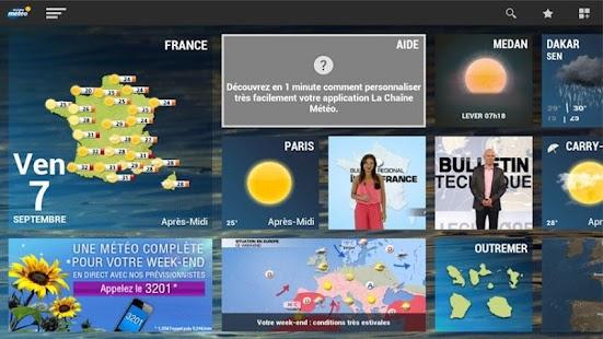 La chaine météo pour tablette screenshot for Android