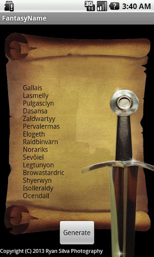 Fantasy Name