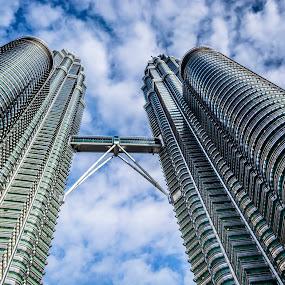 Petronas by Jijo George - Uncategorized All Uncategorized ( klcc, tower, famous place, asia, malaysia, architecture, petronas towers, construction, kuala lumpur,  )