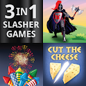 3 In 1 Slasher Games