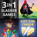 3 In 1 Slasher Games icon