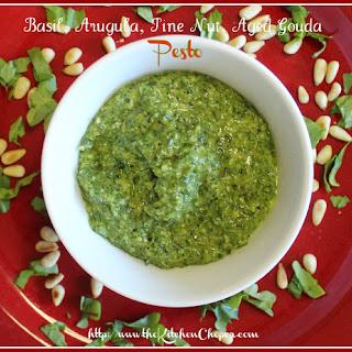 Basil, Arugula, Pine nut, Aged Gouda Pesto