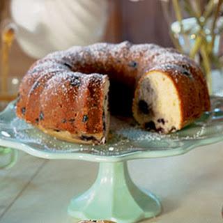 Blueberry-Buttermilk Bundt Cake