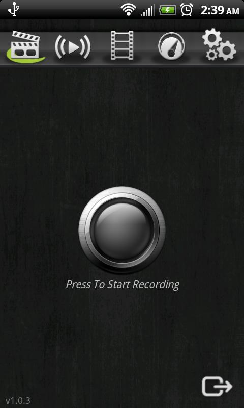 Screencast Video Recorder - screenshot