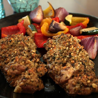 Divine Basil-Walnut Chicken