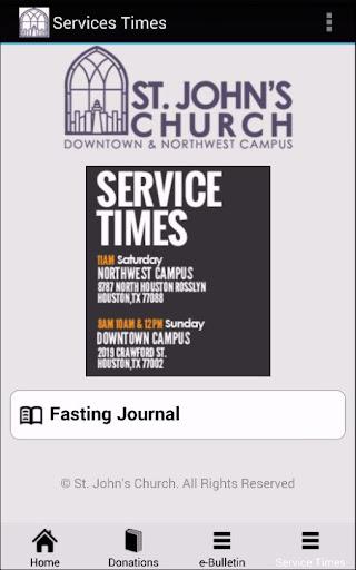【免費社交App】St John's Church-APP點子