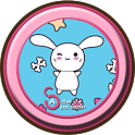Active - Kawaii Bunnies Theme icon