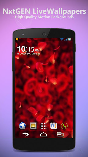 Rose Petals - Live Wallpaper