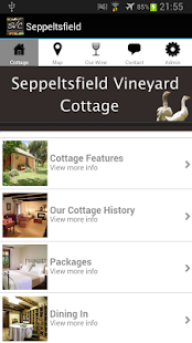 Seppeltsfield Vineyard Cottage- screenshot thumbnail