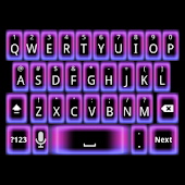 GO Keyboard Girly Neon Theme