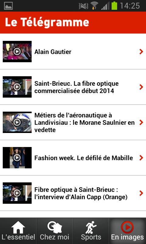 Le Télégramme - Actualité - screenshot