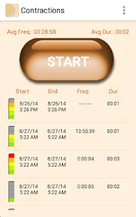 My Contractions Tracker- screenshot thumbnail