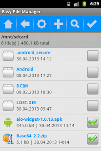 Easy File Manager - screenshot thumbnail