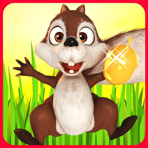 Squirrel Run Hero: Hazel Hunt Icon