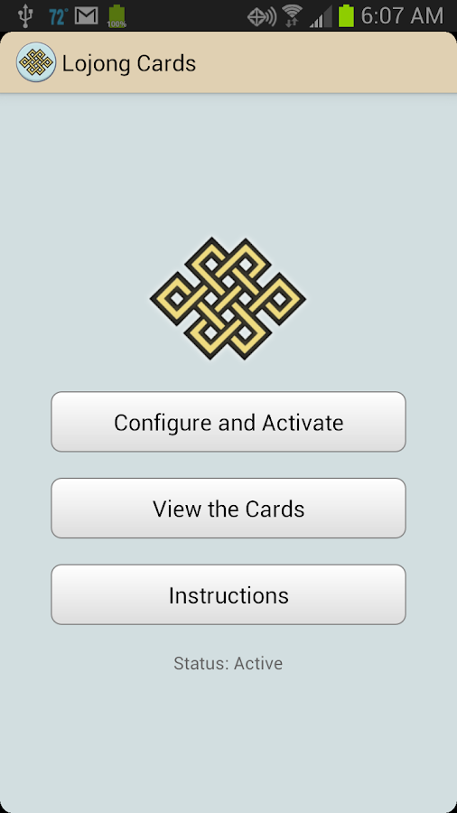 Buddhist Lojong Cards- screenshot