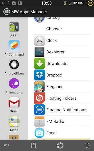 MultiWindow Apps Manager