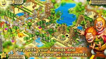 Screenshot of Prehistoric Park Builder