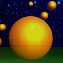 3D Salmon roe shooting icon