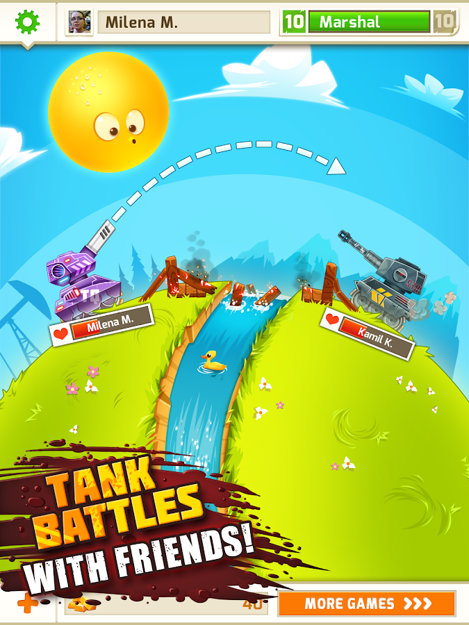 BattleFriends in Tanks PREMIUM - screenshot