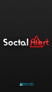 Social Alert - screenshot thumbnail