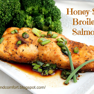 Honey Soy Glazed Salmon.