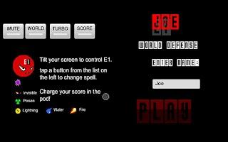 Screenshot of E1 LITE (EXPERIMENTAL)