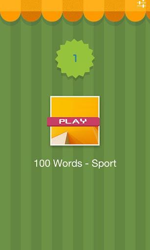 100 Words - Sport