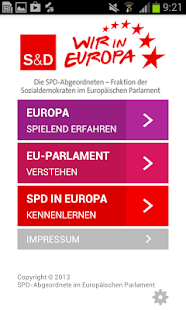 SPD Europa – Miniaturansicht des Screenshots