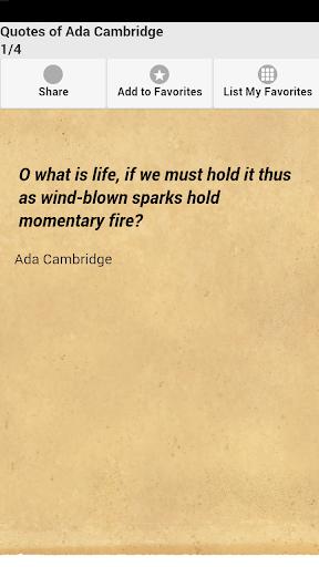 Quotes of Ada Cambridge
