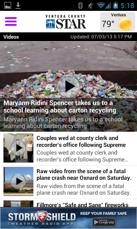 Ventura County Star- screenshot