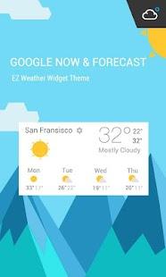 Widget of Google Now Style
