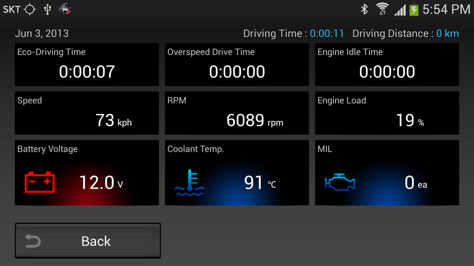 CaroO Free (Blackbox & OBD) - screenshot