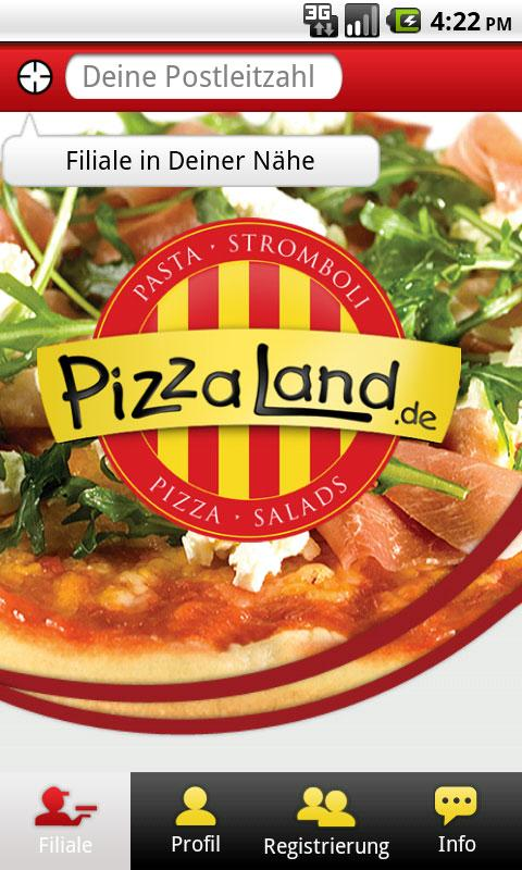 pizza land pizza bestellen android apps on google play. Black Bedroom Furniture Sets. Home Design Ideas